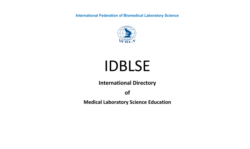 IDBLSE - International Directory of Biomedical Laboratory Science Education