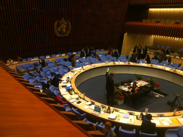 130th meeting of the WHO Executive Board