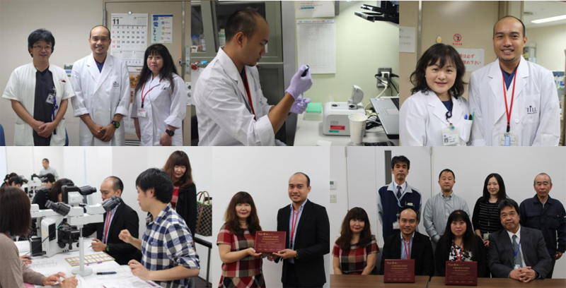 Training Report on TMER Project of Supporting Overseas Trainee 2015