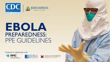Latest Ebola Personal Protective Equipment guidance and technical specifications from the WHO